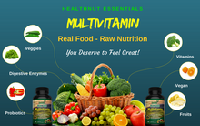 Whole Food Multivitamin - 3 Bottles Save 10% (3 Month Supply) - HealthNut Essentials