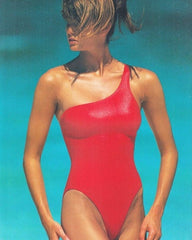 Elle Machperson asymmetrical one piece