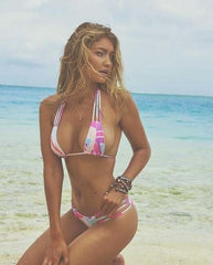 gigi hadid pastel bikini sports illustrated