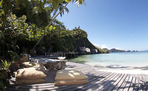 indonesia eco lodge honeymoon destination beach south east asia