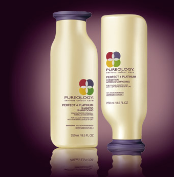 pureology perfect for platinum shampoo and conditioner