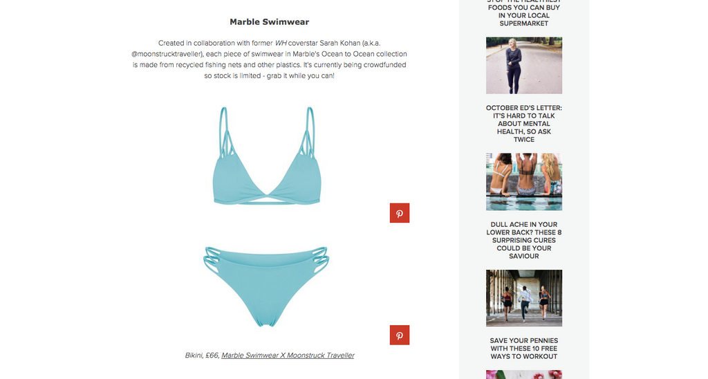 womens health article swimwear that saves our oceans