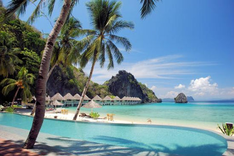 el nido resort philippines south easy asia honeymoon beach bikini