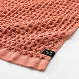 Guild Waffle Hand Towel - Terracotta