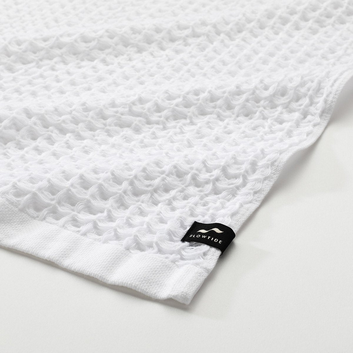 Guild Waffle Hand Towel - White