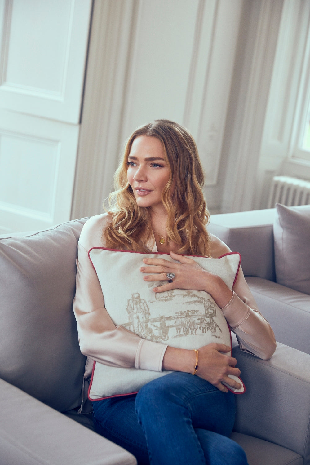 Inside Jodie's home - the model shares her countryside interior design tips
