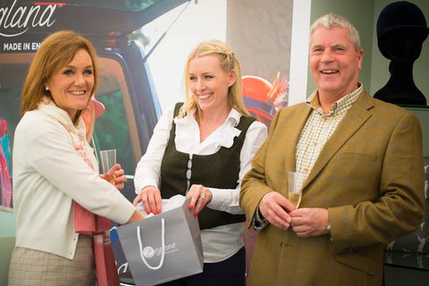 Prize Draw at Hickstead Royal International - Englana® Stand