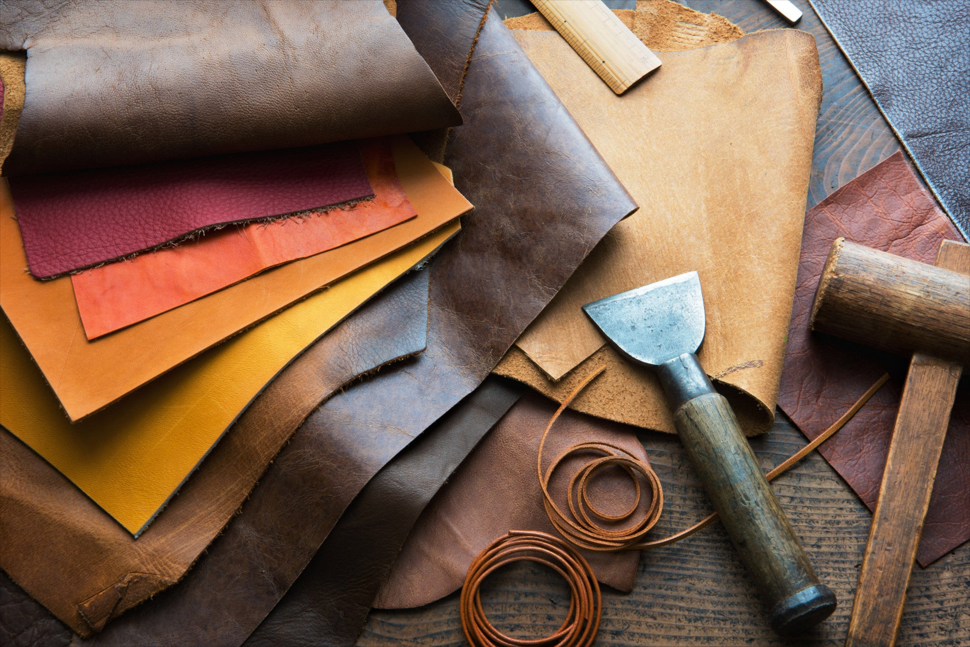 Collation of Englana® Leather Swatches