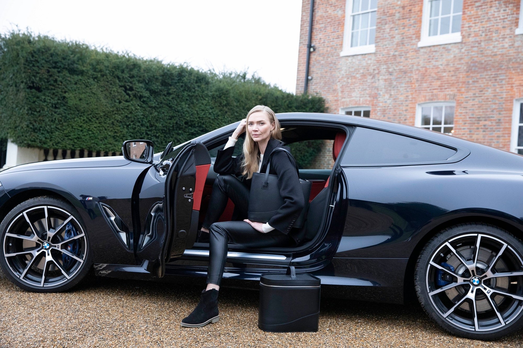 Jodie Kidd with the Mono Collection