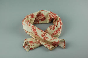Englana | The Bertie Red English Scarf