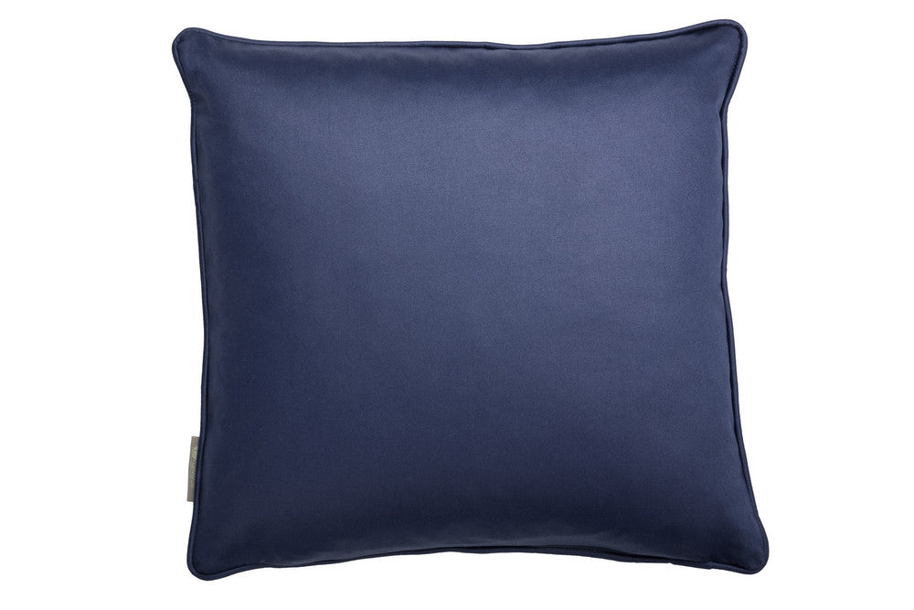 bold scatter cushion in navy blue.