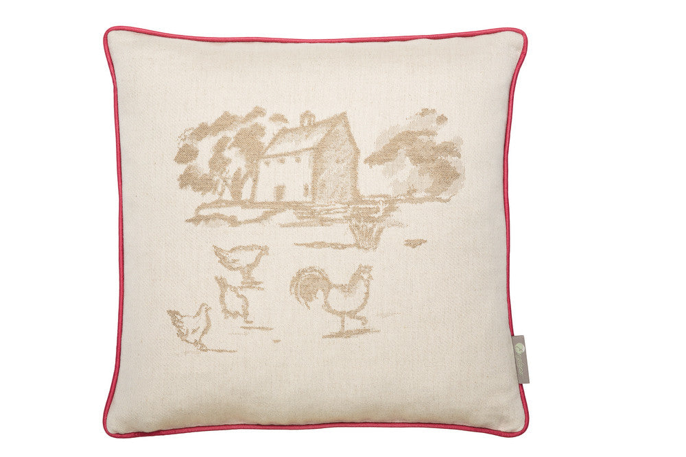 soft furnishing for country house