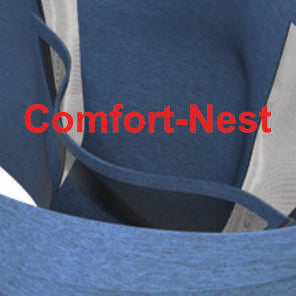3COMFORTABLE Style - Vented Cotton/Spandex Mix