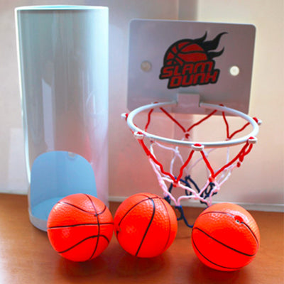 Funny Toilet Basketball Game Gadget