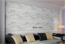 Vintage Brick Stone Pattern Paper Wallpaper Roll For living room