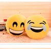 Emoji Smiley Emoticon Round Pillow