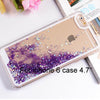 Liquid Glitter Star Quicksand Phone Cases for iphone 5 5S 6 4 4S