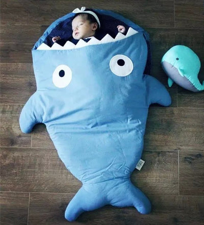 Shark Tail Baby Bite Sleep Bag