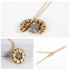 "Image of ""STRAIGHTEN YOUR CROWN""- SUNFLOWER NECKLACE"