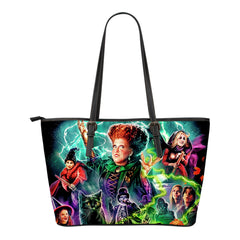 LIMITED EDITION HOCUS POCUS LEATHER TOTE BAG