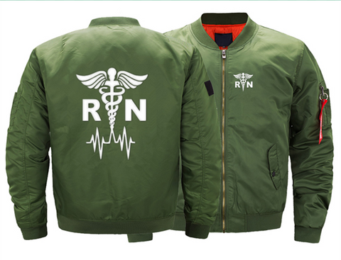 REGISTERED NURSE BOMBER JACKET - LIMITED EDITION