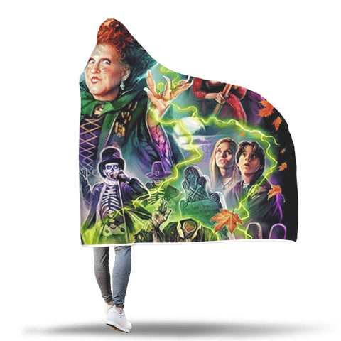 LIMITED EDITION HOCUS POCUS HOODED BLANKET