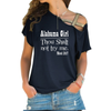 Image of Alabama Girl Cross Shoulder T-shirt