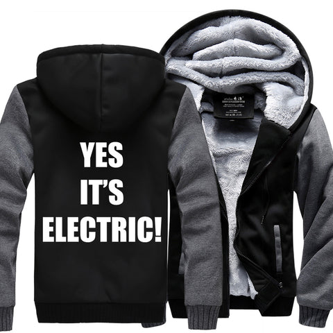 YES IT'S ELECTRIC JACKET- LIMITED EDITION
