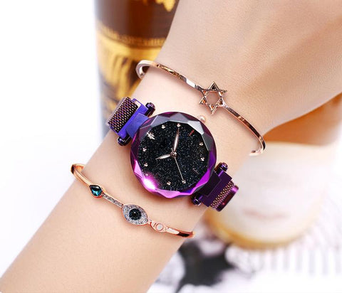 70% OFF Four Colors Starry Sky Watch Perfect Gift Idea!