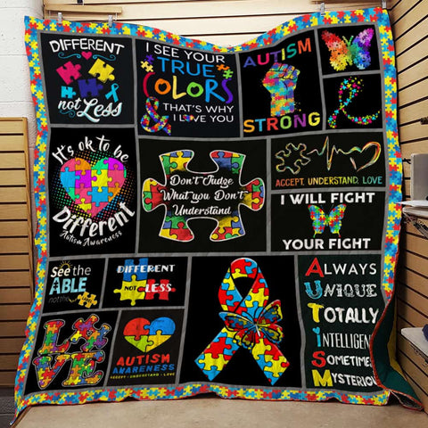 Autism Awareness  Quilt