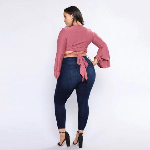 Auto-Fit +Size Miracle Jeans