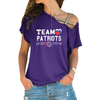 Image of Team Patriots Cross Shoulder T-shirt