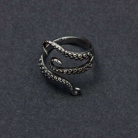 THE KRAKEN  OCTOPUS RING