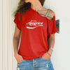 Image of Enjoy America Cross Shoulder T-shirt