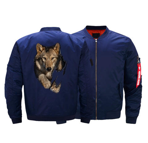 WOLF BOMBER JACKET - LIMITED EDITION