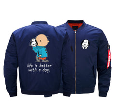 SNOOPY BOMBER JACKET - LIMITED EDITION