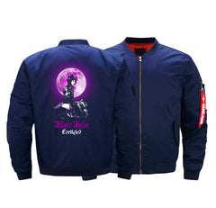 BIKER BABE BOMBER JACKET - LIMITED EDITION