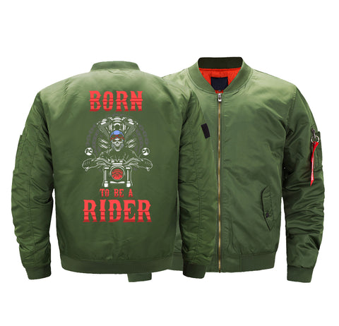 BORN TO RIDE BOMBER JACKET - LIMITED EDITION