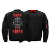 Image of BORN TO RIDE BOMBER JACKET - LIMITED EDITION