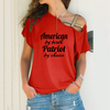 Image of American Patriot Cross Shoulder T-shirt
