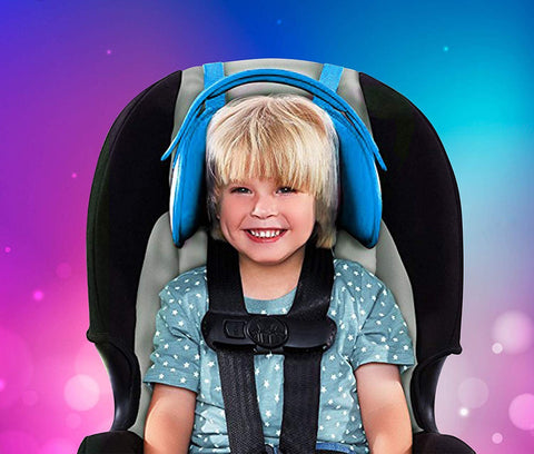 NEW | CHILD CAR SEAT HEAD SUPPORT - A COMFORTABLE SAFE SLEEP SOLUTION | OCTOPUS®