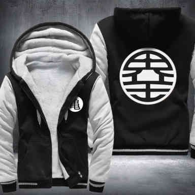 KAME KINGKAI SYMBOL FLEECE JACKET