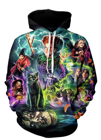 LIMITED EDITION HOCUS POCUS 3D HOODIE
