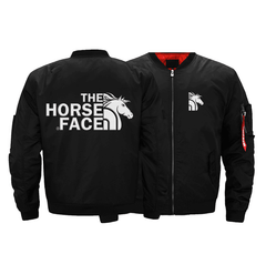 THE HORSE FACE BOMBER JACKET - LIMITED EDITION EMBROIDERED VERSION