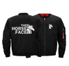 Image of THE HORSE FACE BOMBER JACKET - LIMITED EDITION EMBROIDERED VERSION