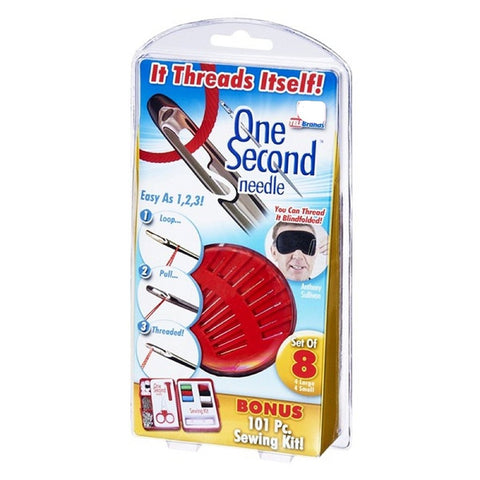 One Second Needle - With Bonus Sewing Kit