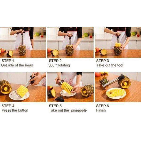 PINEAPPLE CORER-SLICER