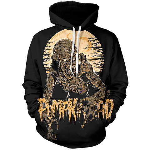 LIMITED EDITION PUMPKIN HEAD 3D HOODIE