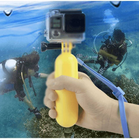 FLOATING HAND GRIP FOR ACTION CAMERA