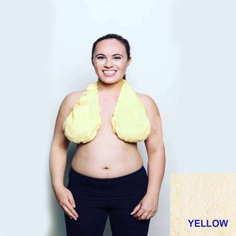 Genius Looking Towel Bra